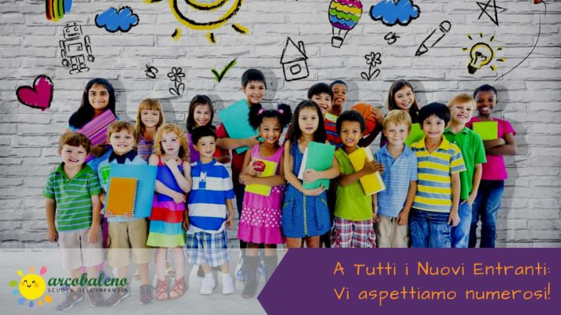 Un'invito per tutti i nuovi entranti per l'anno scolastico 2019-2020