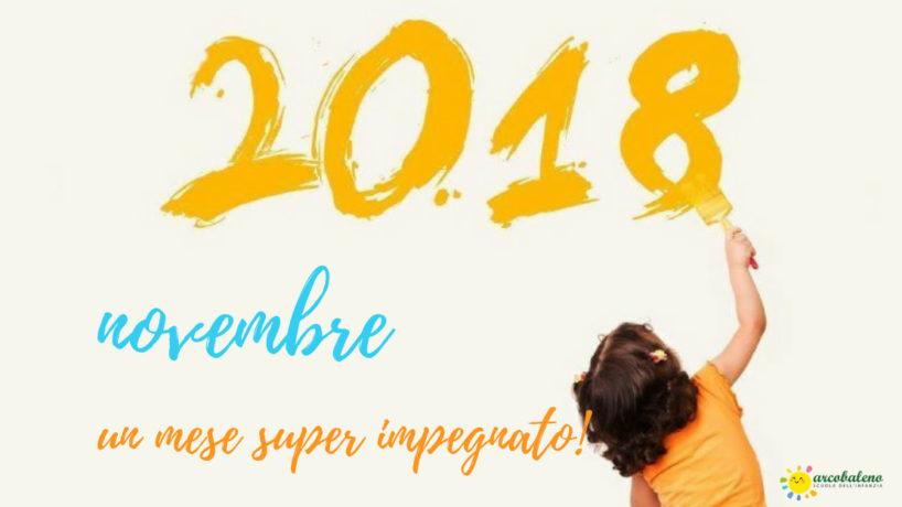 Novembre: Un mese super impegnato!